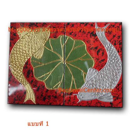 ภาพวาดเฟรมผ้าใบลายทองนูน40x30-gigsor