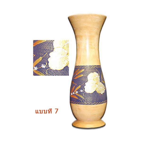 แจกันไม้มะม่วง5x20นิ้ว(6ชิ้น)