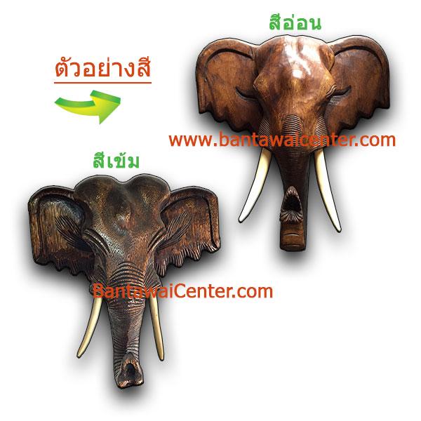 ตัวอย่างสีหัวช้าง