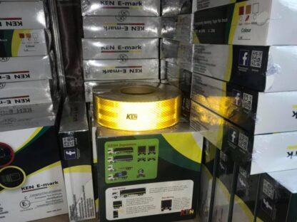 สติ๊กเกอร์สะท้อนแสงติดรถบรรทุก มาตราฐานขนส่ง